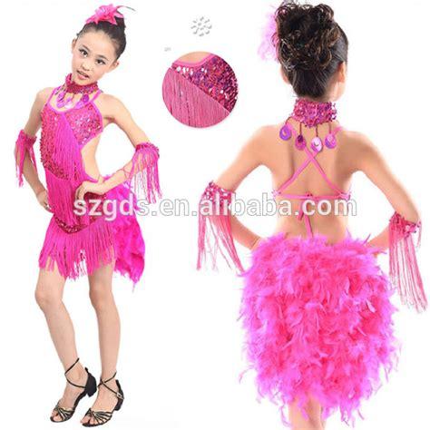 Bantal Muka Piggy Bulu Mawar stoknya kostum tari bulu dibatasi ballroom gaun untuk anak anak 3 warna biru mawar kuning