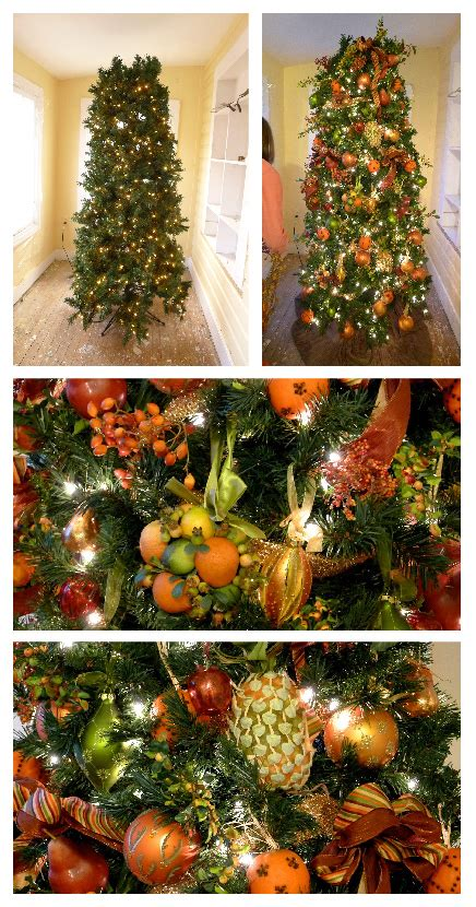 my holiday decorations the fruit christmas tree