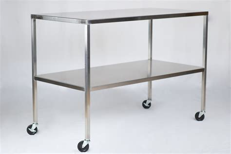 stainless steel tables qc storage