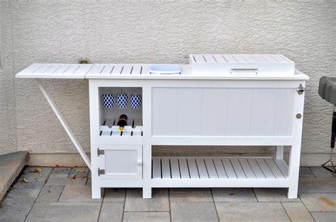 Garden Bar Accessories Outdoor Bar With Built In Cooler Accessories Goettner Net
