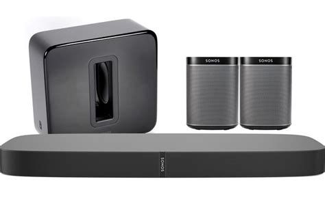 sonos playbase 5 1 home theater system black includes