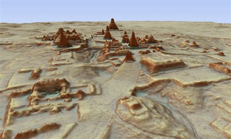 Search In Guatemala Scientists Find Thousands Of Mayan Structures