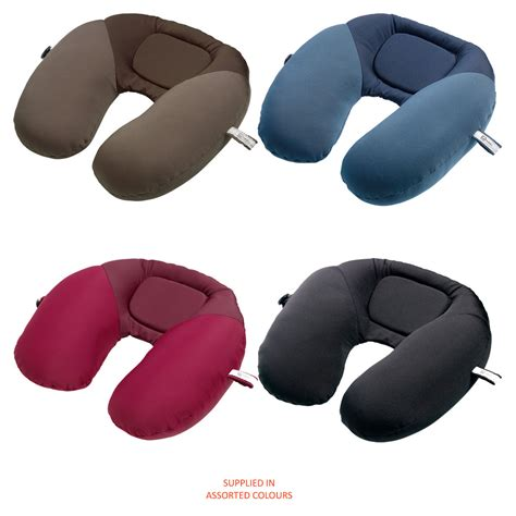 Travel Neck Pillow Bean Bag by Brand New Go Travel Bean Snoozer Assorted Colours