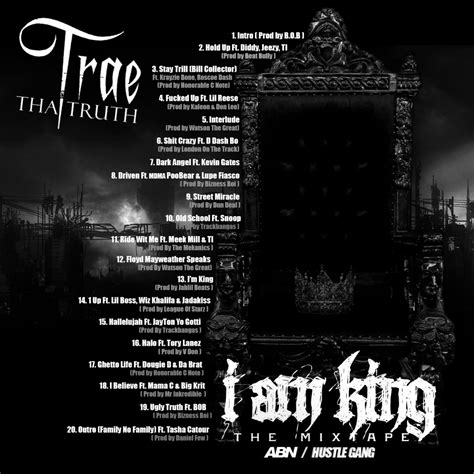 I Am King New mixtape trae tha i am king hiphop n more