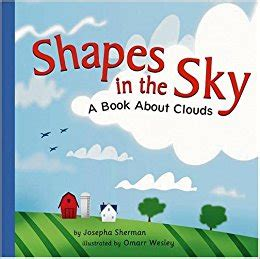 a sky of books shapes in the sky a book about clouds amazing science