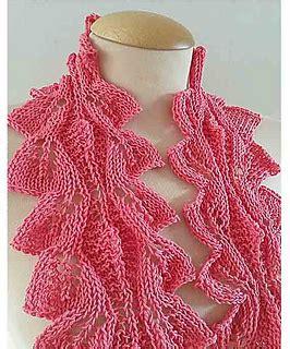 leaf pattern neckwear ravelry neckwear tulip leaf pattern by jen giezen