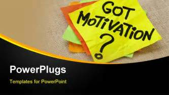 inspirational powerpoint templates powerpoint template motivation post it sticky notes on