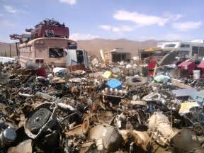 Junk Yards In Going Out On A Limb Junkyard Blues