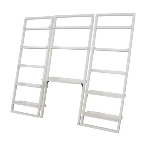 crate and barrel leaning bookshelf 88 off crate barrel crate barrel leaning white