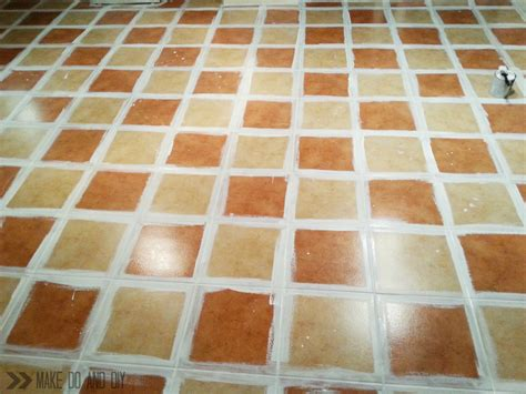 how to tile a floor painted tile floor no really make do and diy