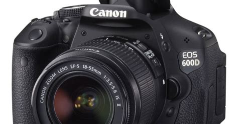 Lensa Canon Eos 600d spesifikasi dan harga canon eos 600d lensa kit 18 info
