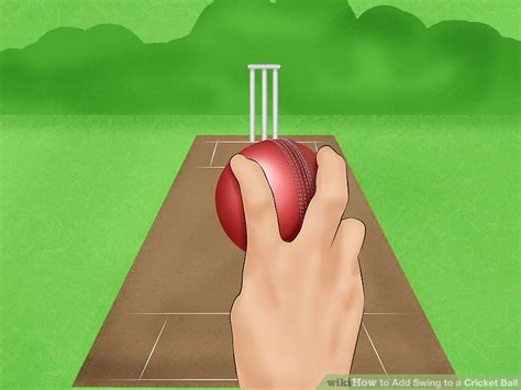 how to swing a cricket ball both ways 3 ways to add swing to a cricket ball wikihow