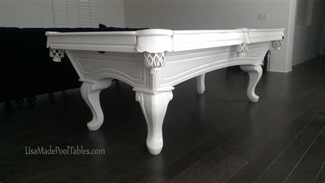 chippendale pool tables white pool table pool tables