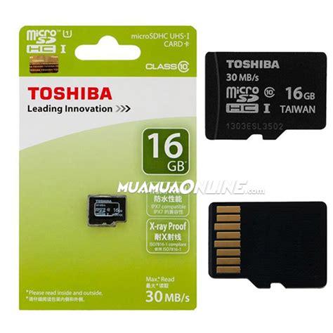 Toshiba Micro Sd 16 Gb Class 10 Kartu Memory Memory Card 16gb 1 thẻ nhớ micro toshiba 16gb class 10 ch 237 nh h 227 ng thẻ nhớ toshiba gi 225 rẻ tp hcm bi 234 n ho 224