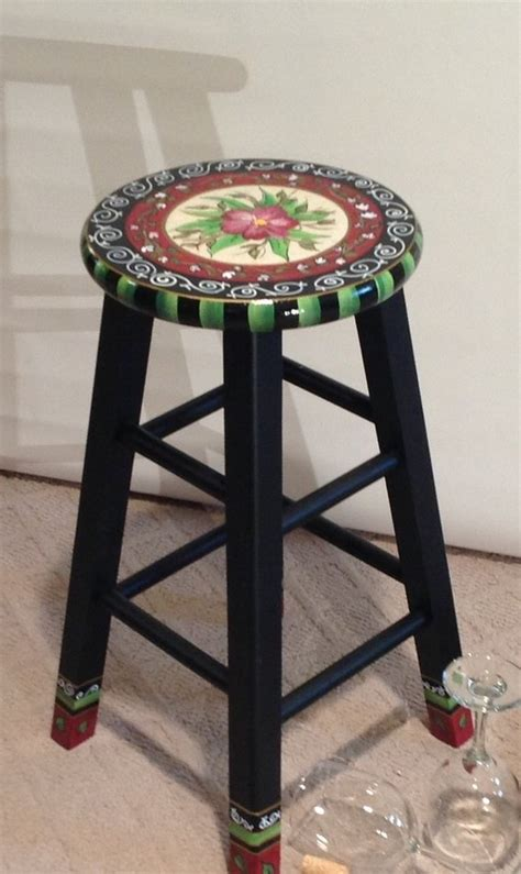 Painted Counter Stools by Painted Bar Stools Newsonair Org