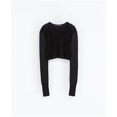 Zara Palm V Neck Shirt leopard attitude sweater zara sweater vest