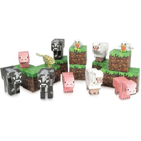 Animals Coelacanth Miniature Papercraft minecraft papercraft mini animals www pixshark images galleries with a bite