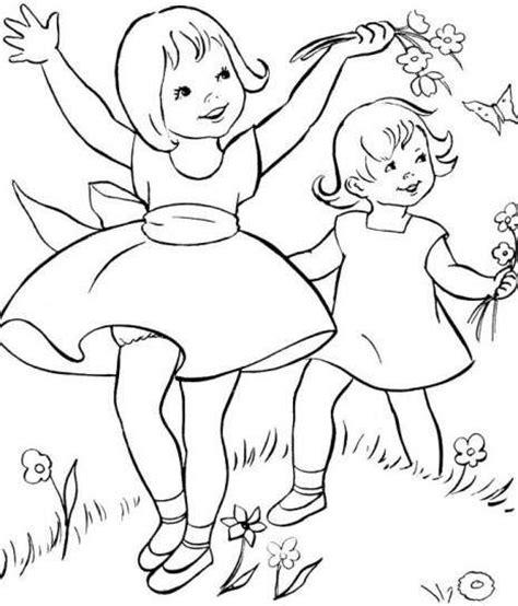 fiori da stare e colorare per bambini disegni primavera da stare e colorare foto 9 38