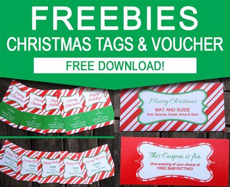 editable printable gift vouchers free christmas gift tag printable set