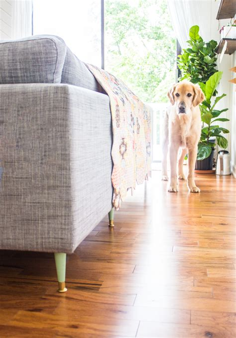 ikea karlstad sofa legs tutorial how to replace the legs on an ikea karlstad sofa