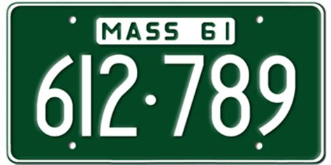 Ma Vanity Plate by Massachusetts State License Plates Vanity License Plate
