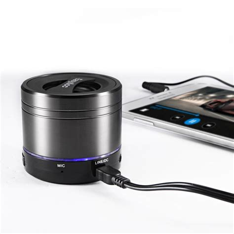 Speaker Portable Gmc easyacc mini portable rechargeable bluetooth speaker with