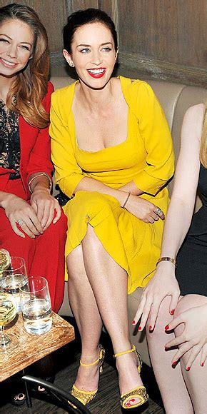 You Asked We Found Kate Walshs Yellow Dress by You Asked We Found Looks Emily Blunt S Mustard