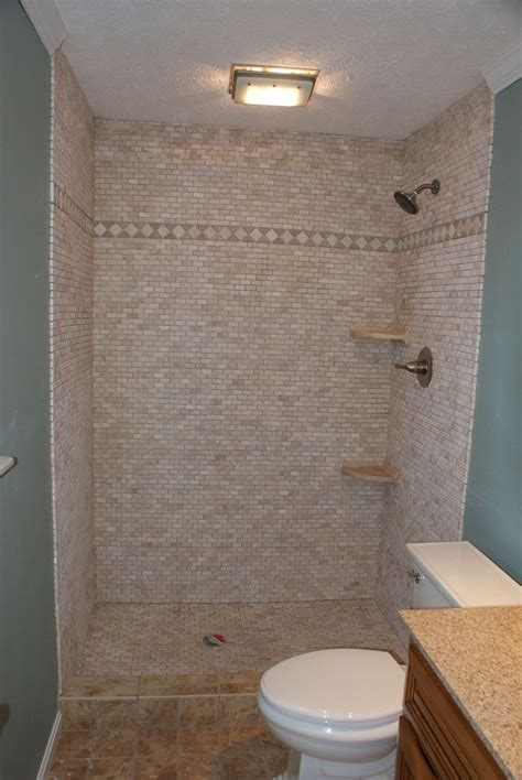 shower stalls for mobile homes custom tile shower