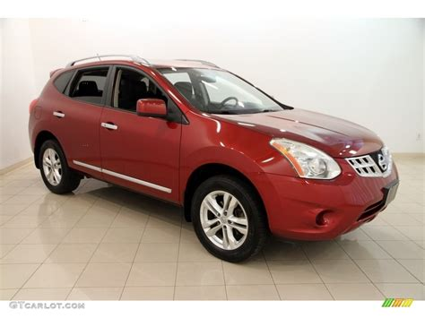 red nissan rogue 2012 cayenne red nissan rogue sv awd 114691844 photo 13