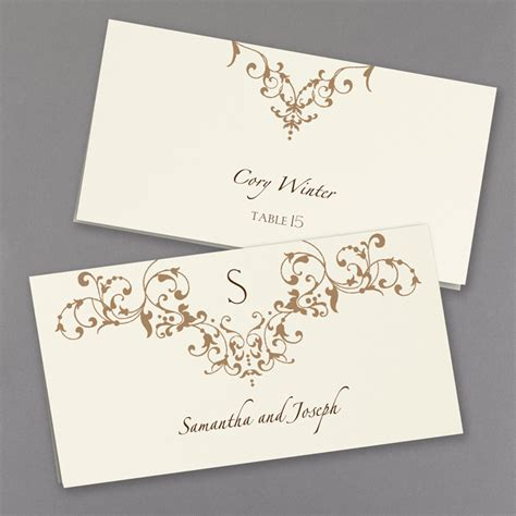 place cards french vintage wedding place cards little flamingo