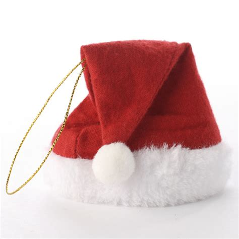 small fleece santa hat ornament doll hats doll making