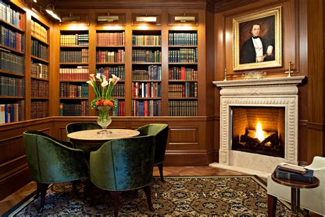 The Book Room The Jefferson Hotel Dc S Best Reason To Take A Staycation