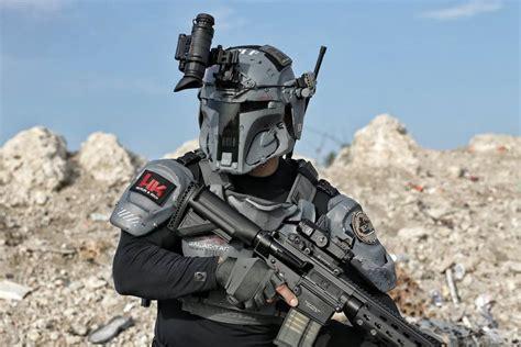 real grade boba fett inspired tactical armor