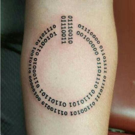 binary tattoo s designs tattoonow