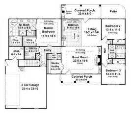 country style house plans 2000 square foot home 1