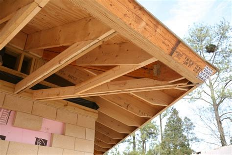 lookout rafters flat roof lookout rafter framing search details