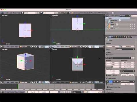 tutorial blender interface beginners blender 3d tutorial 2 the interface youtube