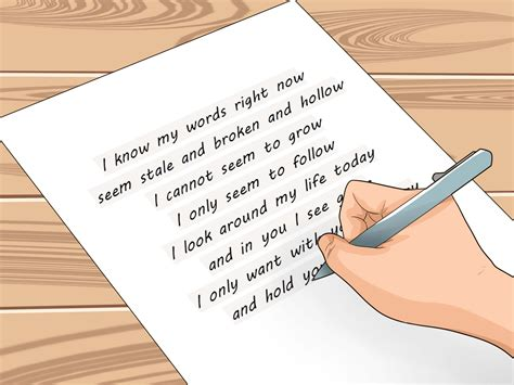 Sweet Apology Letter To Your 3 Ways To Apologize To Your Wikihow