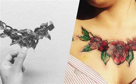tattoo removal nz the tattoo that fell off a girls chest and left the most