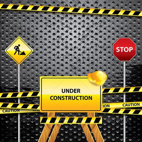 under construction grunge background graphicriver
