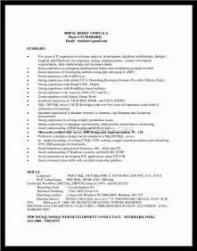 Web Ui Developer Sle Resume by Sle Web Ui Developer Resume Resume