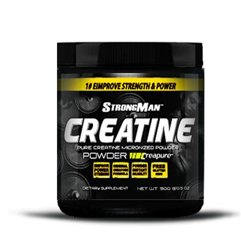 creatina e caffe strongman creatine 500g sport nutrition distributore