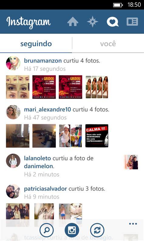instagram layout for windows 7 nova vers 227 o do aplicativo oficial do instagram tem