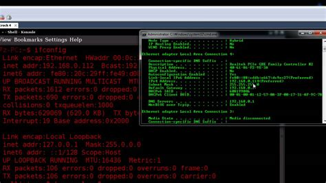 tutorial linux backtrack setting up a network connection in linux backtrack youtube