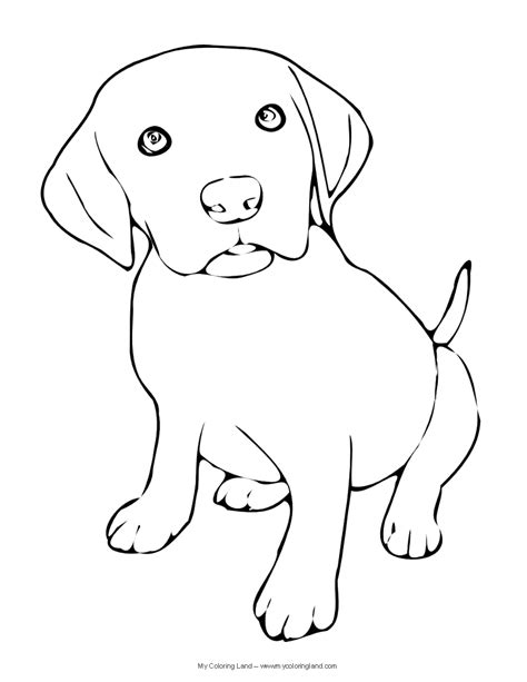 black and white coloring pages of dogs puppy coloring pages getcoloringpages com