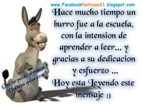 imagenes de amor chistosos del burro shrek burros con frases chistosas imagui