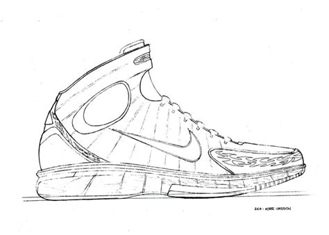 drawings of basketball shoes twenty designs that changed the nike air zoom
