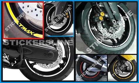 phon da carrozziere adesivi ruote moto strisce cerchi yamaha tmax 500 tmax 530