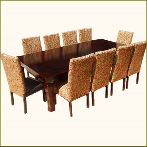 Dining Room Set For 10 10 Chair Dining Room Set Marceladick