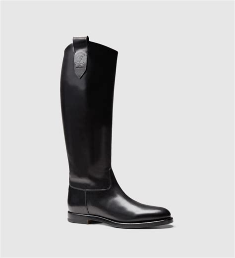 mens equestrian boots gucci s leather boot from equestrian collection